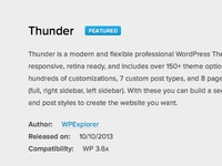 WPExplorer - Featured Theme