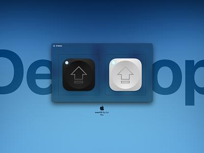 Captin macOS Big Sur Icon captin graphic design illustration key cap caps lock macos design photoshop illustrator icon big sur apple
