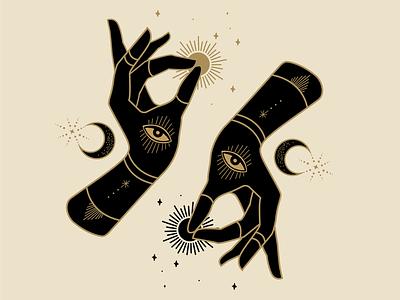 Up & Down mystical designer atx illustrator mystical design design