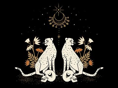 Twins graphic design logo tattoo ideas mystical celestial illustration designer illustrator atx design