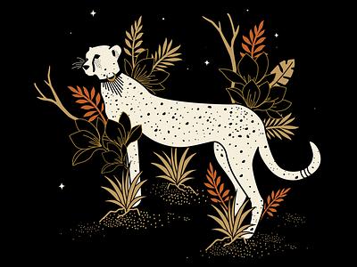 Cheetah celestial cheetah mystical atx designer illustrator design