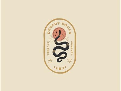 Desert Souls branding logo design alchemy badgedesign desert atx design graphic design