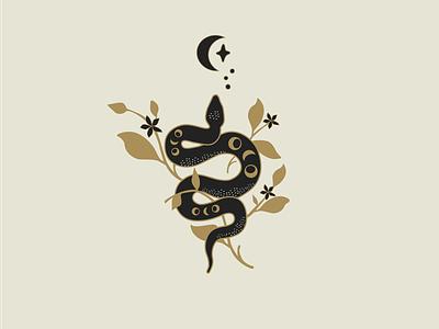 Serpent illustrator logodesigner design atx logo branding graphic design
