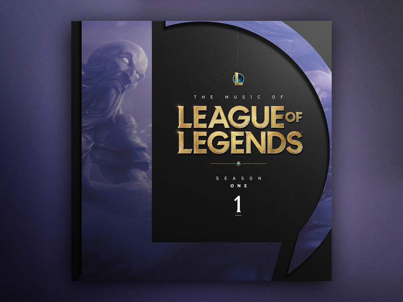 The Music of League of Legends : Album Covers album cover design album artwork album cover album art music vector marketing leagueoflegends advertising brand branding typography illustration design