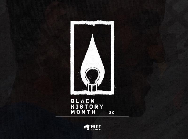 Happy Black History Month from Riot Noir! black bhm logo harlemrenaissance blackhistorymonth merchandise marketing advertising apparel campaign design brand branding typography illustration design