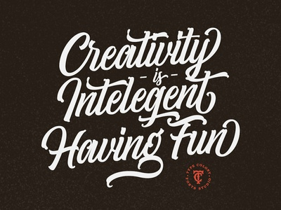 Typograpical Quote