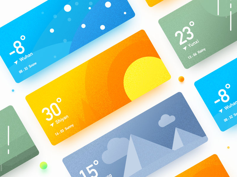 Weather widget widget ui fog cold cloudy card blue app weather