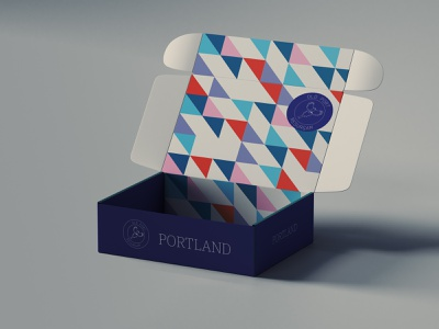 Portland City Rebrand Promo Packaging icon packaging mockup vector design logo conceptual adobe illustrator branding brand identity