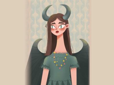 Maleficent illustrations