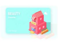 2.5d beauty shop