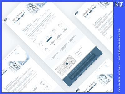 Kancelaria Adwokatów i Radców Prawnych / Web Design photoshop ux grid typography branding uidesign web design ui webdesign