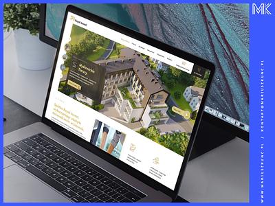 Royal Invest / webdesign icon logo photoshop homepage uidesign branding web layout design ui design ui webdesign website