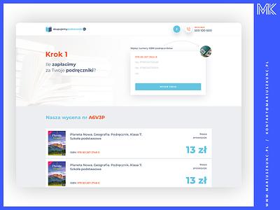 skupujemypodreczniki / webdesign typography branding logo layout portal books web uidesign ui webdesign design