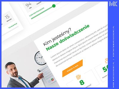 Platforma tokenizacyjna branding platform tokenization investment token ux layout web design uidesign webdesign ui