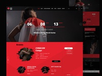 Diving Canada - concept home page