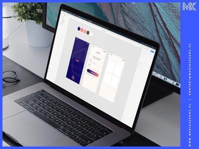 App Design working / Adobe XD