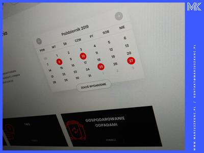 Calendar / webdesign