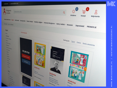 Sklep / wydawnictwo / webdesign