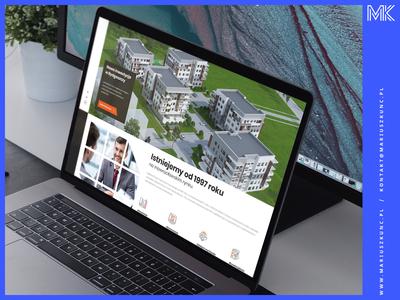 Deweloper - nieruchomoości / webdesign