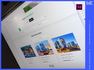 Biuro nieruchomości / webdesign
