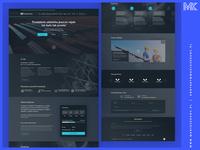 Webdesign / Energy Project