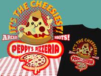 Peppys Pizza Dribbble