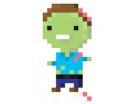 8 Bit zombie