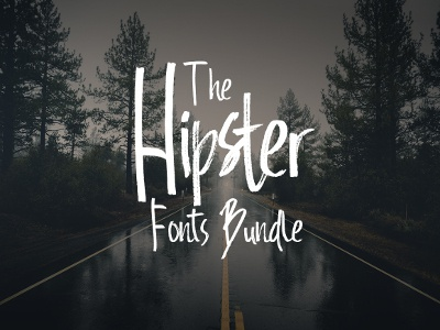 The Hipster Fonts Bundle: 68 High-Quality Modern Fonts