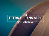 The Eternal Sans Serif Fonts Bundle: 162 Unique Fonts