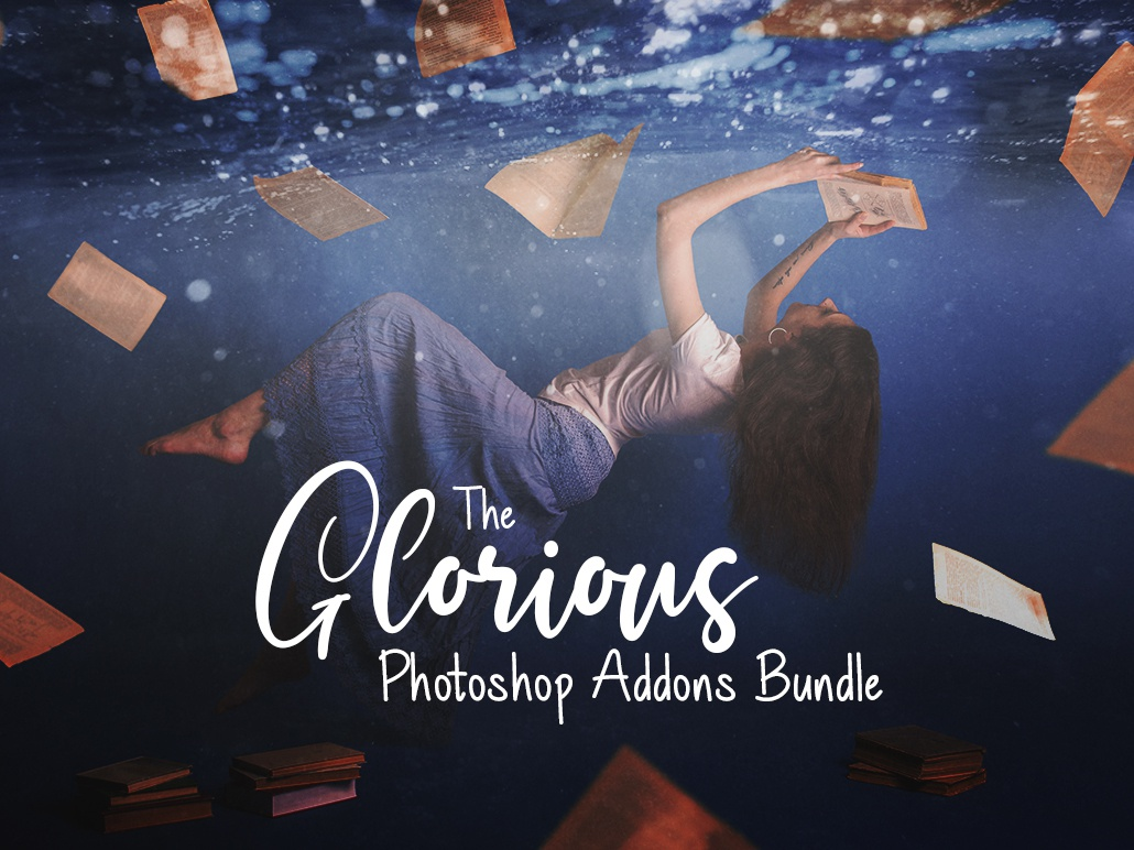 The Glorious Photoshop Add-ons Bundle textures swatches overlays layer styles photoshop brushes photoshop action design resources