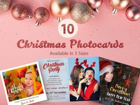 10 Free Christmas Photocards