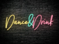 Free Neon Photoshop Text Effect