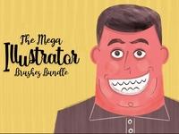 he Mega Illustrator Brushes Bundle