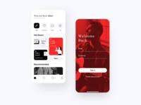 music music design app ui