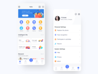 Intelligence community —app icon ui design app