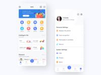 Intelligence community —app icon ui design app