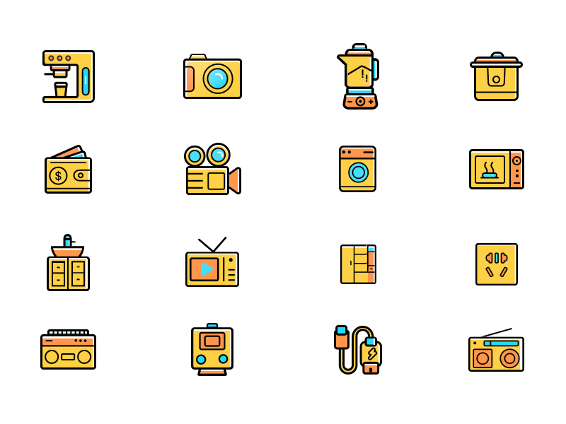 Icon  Design icon ui illustration