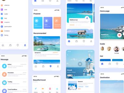 Travel ui travel design app icon