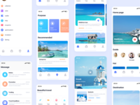 Travel ui travel design app icon