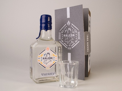 Halcón Tequila Packaging