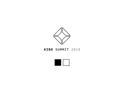Kibo Summit Event Logo Iteration