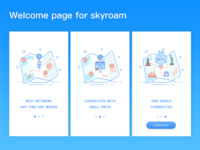 Welcome Page For Skyroam