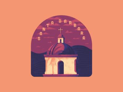 Santa Barbara Badge