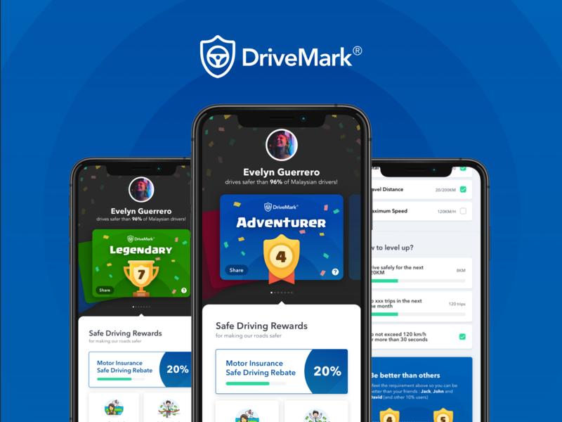 Drivemark - Level rewards level insurance katsana mobile malaysia gradient