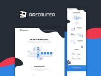 AI Recruiter - Landing Page kuala lumpur malaysia bot chat chatbot landing page