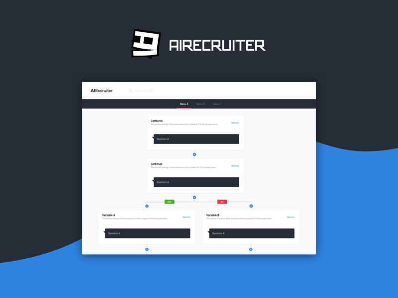 AI Recruiter - Question Configurator admin panel chat bot chatbot