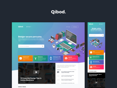 Qibod.com - Index lesson video course learning