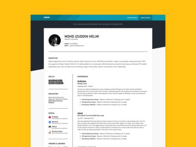 HireMe - Resume hiring job resume
