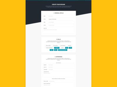 Hireme - Resume Creation forms hiring resume job