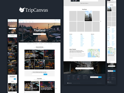 Tripcanvas - Country Index review articles tripcanvas travel wordpress